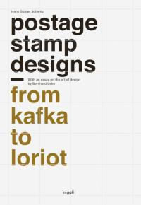 Postage stamps design - from Kafka to Loriot