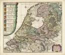 De Zeven Provinciën door Caspar Specht, 1702