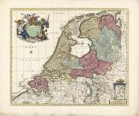 De Zeven Provinciën door Nicolaas Visscher, ca. 1656