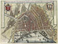Amsterdam door Joan Blaeu, 1649