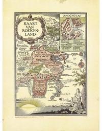 Kaart van Boekenland