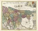De kerkelijke verdeling van Holland door Carel Allard