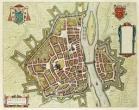 Maastricht door Joan Blaeu