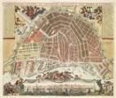 Kaart van Amsterdam, ca. 1690