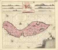 Kaart van Curaçao, 1715
