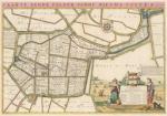 Kaart van Nieuwe Gote - Atlas der Neederlanden