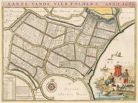 Kaart van Vierpolders - Atlas der Neederlanden