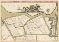Kaart Oude- en Nieuwe Struit - Atlas der Neederlanden