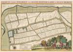 Kaart Klein Oosterland en Kley-burgh - Atlas der Neederlanden