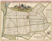 Kaart Oudenhoorn - Atlas der Neederlanden