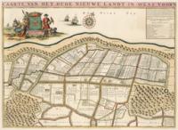 Kaart Oude Nieuwland in West-Voorne - Atlas der Neederlanden