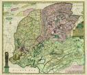 Kaart Friesland - Atlas der Neederlanden