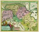 Kaart Groningen - Atlas der Neederlanden